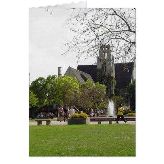 Fuente de la universidad de Madison Felicitaciones