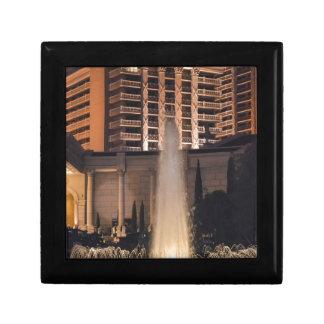 Fuente de Las Vegas en night_ jpg Cajas De Regalo