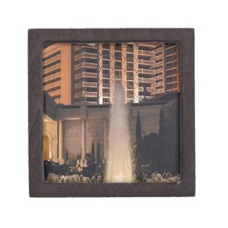 Fuente de Las Vegas en night_ jpg Caja De Recuerdo De Calidad