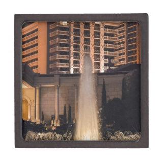 Fuente de Las Vegas en night_ jpg Caja De Regalo De Calidad