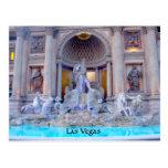Fuente de Las Vegas Tarjeta Postal