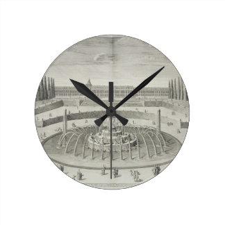Fuente de Latone en Versalles, 1714, de 'Les Reloj De Pared