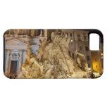 Fuente de los 4 ríos, plaza Navona, Roma iPhone 5 Case-Mate Cobertura