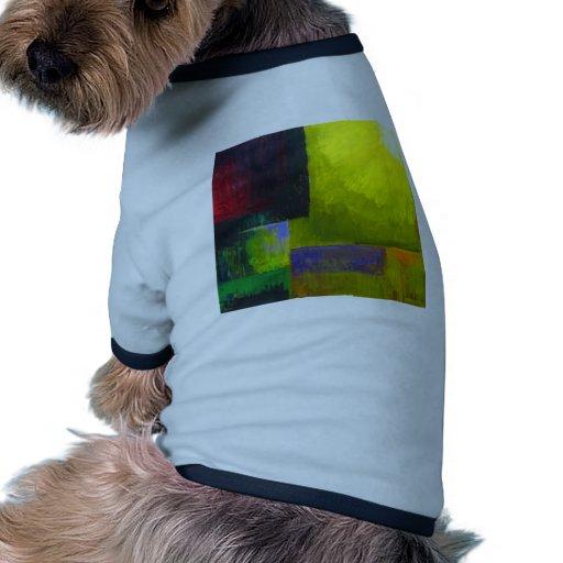 Fuente de luz apropiada (expresionismo ligero abst camisa de mascota