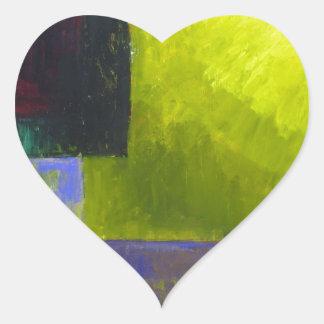 Fuente de luz apropiada (expresionismo ligero pegatina en forma de corazón