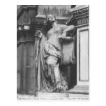 Fuente de Moliere, comedia ligera, 1844 Tarjeta Postal