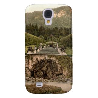 Fuente de Neptuno, castillo de Linderhof, Alemania Funda Samsung S4