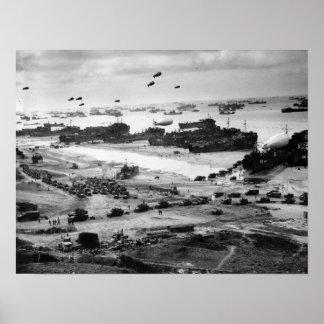 Fuente de Normandía Poster