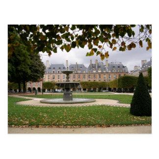 Fuente de París Tarjetas Postales