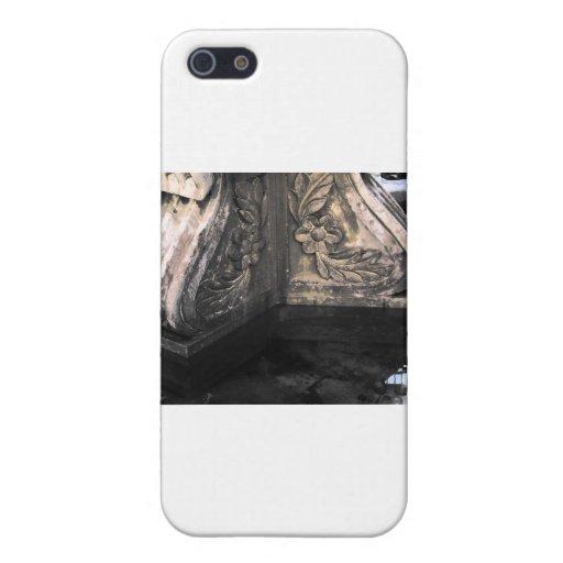 fuente de piedra iPhone 5 carcasas