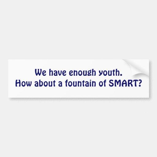 Fuente de Smart. Pegatina Para Auto