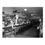 Fuente de soda de Dixie, los años 20 Postales