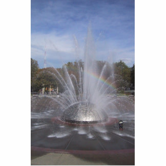 Fuente del centro de la ciencia de Seattle Escultura Fotográfica