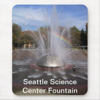 Fuente del centro de la ciencia de Seattle Mousepads