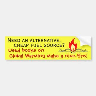 Fuente del combustible alternativo pegatina para auto