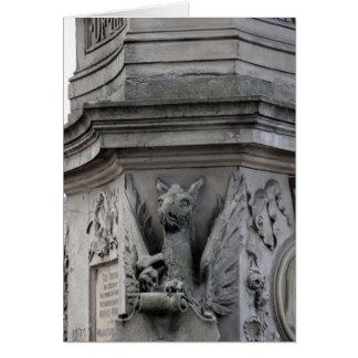 Fuente del monumento de Hawarden Tarjeta De Felicitación