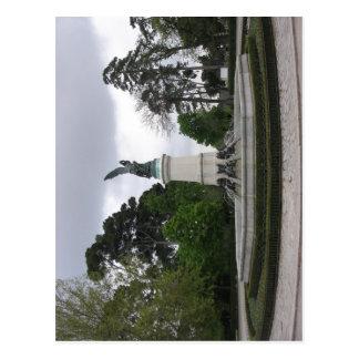 Fuente del ngel ca do Parque del Buen Retiro Ma Postcards