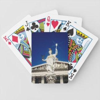 Fuente del Pallas-Athene Baraja Cartas De Poker