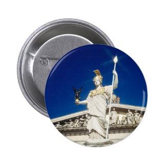 Fuente del Pallas-Athene Pin Redondo 5 Cm