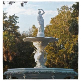 Fuente del parque de Georgia Forsyth de la sabana