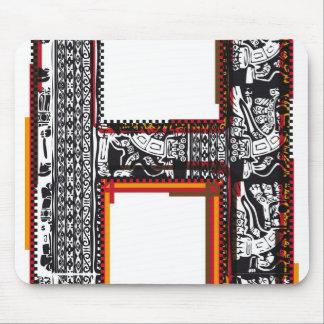 Fuente del ` s del inca, letra H Alfombrilla De Ratones