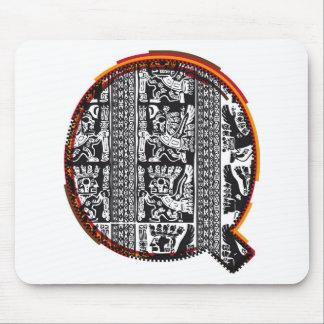 Fuente del ` s del inca, letra Q Mouse Pad