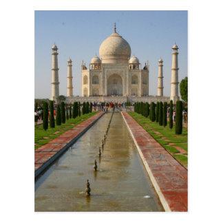 fuente del Taj Mahal Postal