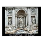 Fuente del Trevi en Roma, Italia Tarjetas Postales