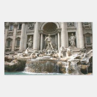 Fuente del Trevi (Fontana di Trevi) - Roma Rectangular Altavoces