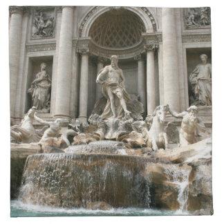 Fuente del Trevi (Fontana di Trevi) - Roma Servilletas