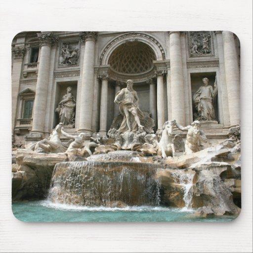 Fuente del Trevi (Fontana di Trevi) - Roma Alfombrilla De Ratones