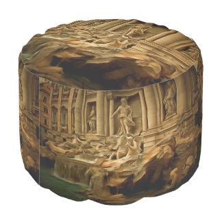 Fuente del Trevi que pinta Roma Puf Redondo