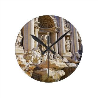 fuente del Trevi Reloj Redondo Mediano