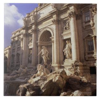 Fuente del Trevi, Roma, Italia Azulejo Cuadrado Grande