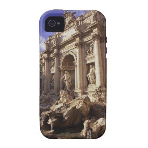 Fuente del Trevi, Roma, Italia Case-Mate iPhone 4 Carcasa