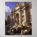 Fuente del Trevi, Roma, Italia Impresiones
