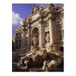 Fuente del Trevi, Roma, Italia Tarjeta Postal