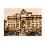 Fuente del Trevi, Roma, Lazio, Italia Postal