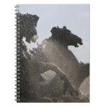 Fuente, DES Girondins, Burdeos del monumento, Note Book