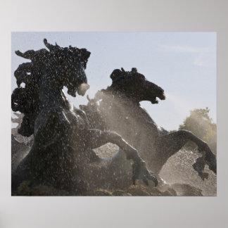 Fuente, DES Girondins, Burdeos del monumento, Posters