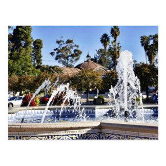 Fuente en el parque San Diego de Balbao Postal