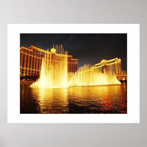 Fuente en Las Vegas Impresiones
