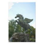 Fuente en los jardines de Mirabell en Salzburg Impresion Fotografica
