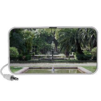 Fuente en Parque de María Luisa, Sevilla iPhone Altavoces