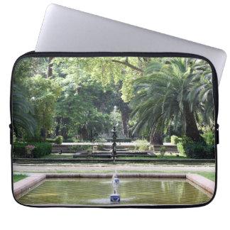 Fuente en Parque de María Luisa, Sevilla Funda Ordendadores