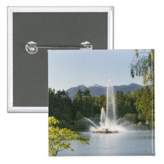 Fuente perdida de la laguna, parque de Stanley, Pin Cuadrado