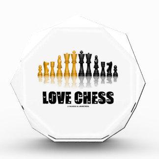 Fuente reflexiva de las letras de amor del juego