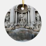 Fuente Roma del Trevi Adorno De Navidad