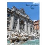 Fuente Roma del Trevi Postal