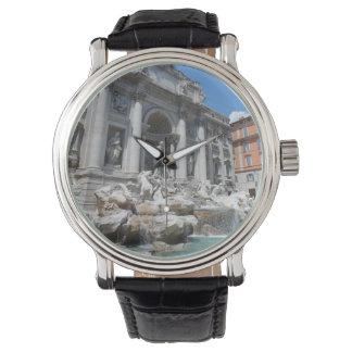 Fuente Roma del Trevi Relojes De Mano